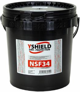Abschirmfarbe NSF34 NF 5 Liter