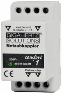 Netzabkoppler Comfort NA1 mit VDE