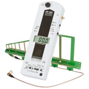 Messgeraet HF35C zur Identifikation gepulster Strahlungsquellen