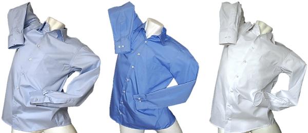 Strahlenschutzhemd Popeline Herren HF abschirmend