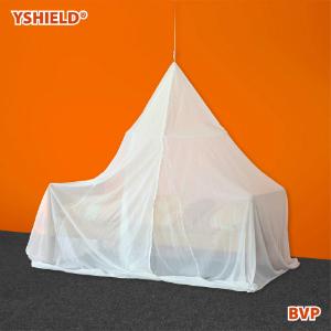 Abschirmbaldachin Pyramide Einzelbett HF VOILE