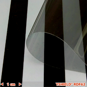 Abschirmende Fensterfolie RDF62 HF Breite 76 cm 1 Laufmeter