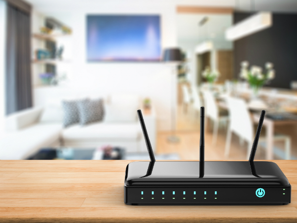 WLAN Strahlung durch Router