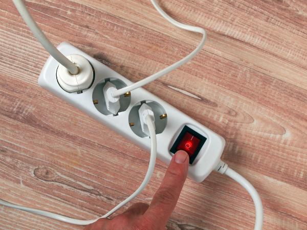 Stromkreis abschalten