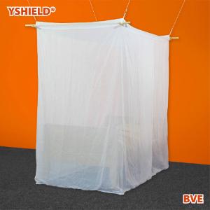 Abschirmbaldachin Kasten Einzelbett HF VOILE