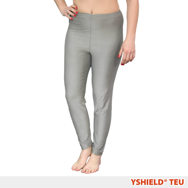 Abschirmende lange Unterhose aus Silver-Elastic TEU HF+NF