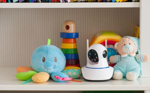 IP Kamera zur Ueberwachung des Babys