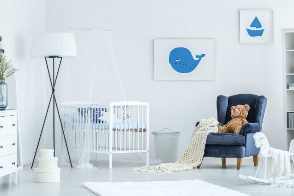 Kinderzimmer fuer Babys