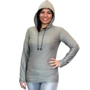 Abschirmender Hoodie aus Silver-Elastic TEO | HF+NF