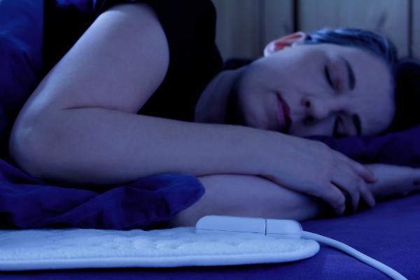 Beheizte Bettdecke