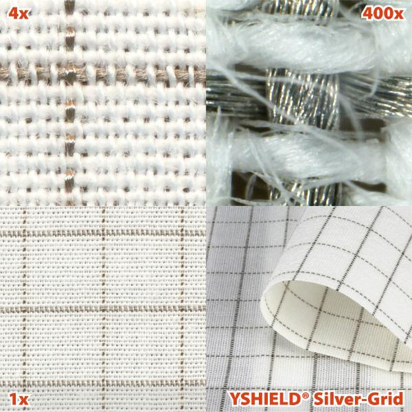 Abschirmstoff SILVER-GRID NF Breite 150 cm 1 Laufmeter