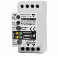 Netzabkoppler Ultima 8 kann Standby-Geraete zuverlaessig abkoppeln