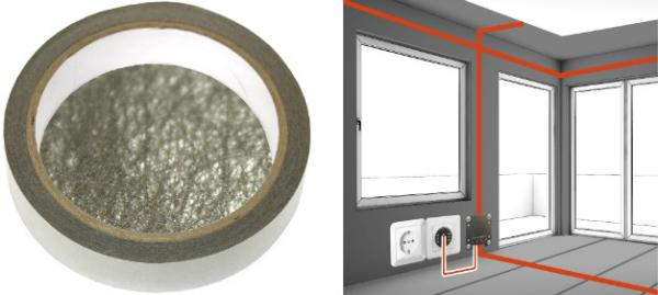 Erdungsband EB1 | Breite 2 cm | 10 Laufmeter