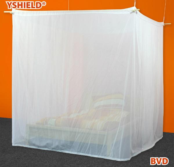 Abschirmbaldachin | Kasten Doppelbett | HF | VOILE