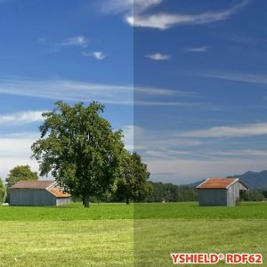 Abschirmende Fensterfolie RDF62 | HF | Breite 152 cm | 1 Laufmeter
