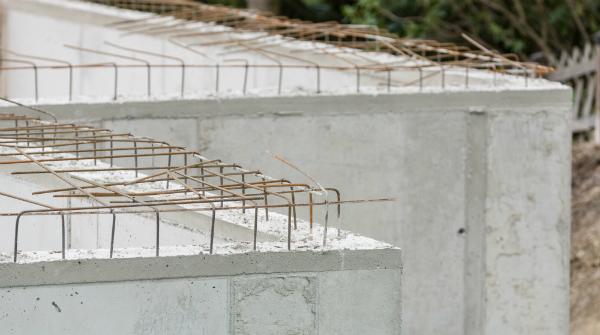 Beton wirkt gut zur Abschirmung