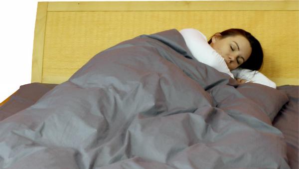 Abschirmende Bettwäsche aus Steel-Gray TBL | HF