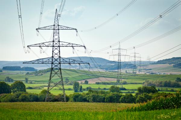 Elektrosmog durch die Stromtrasse