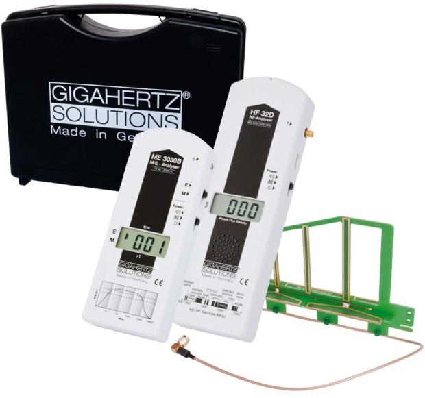 HF+NF | Messkoffer MK10 für Elektrosmog