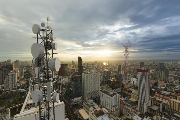 5G Mast-Anlage