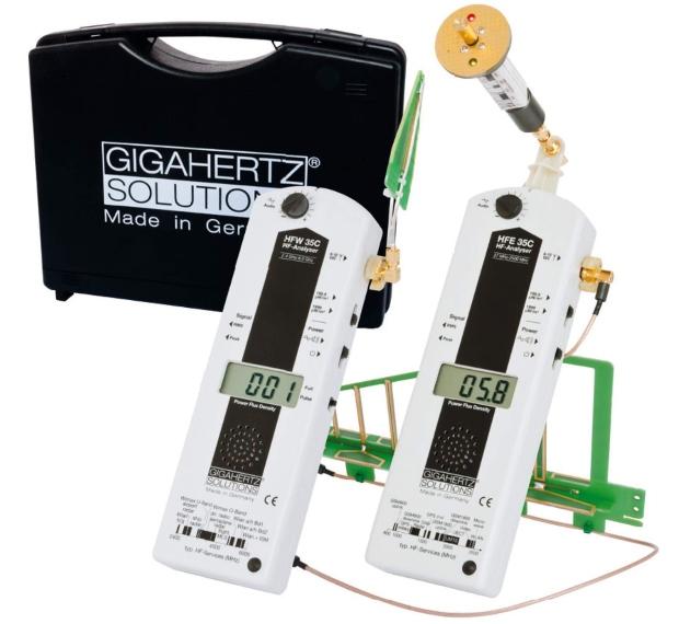 HF | Gigahertz-Solutions | Messgeräteset HFEW35C