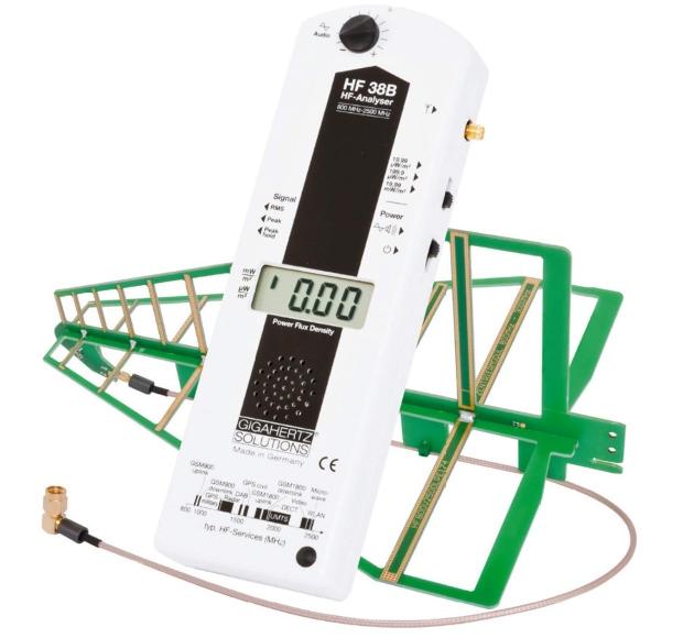 HF | Gigahertz-Solutions | Messgerät HF38B