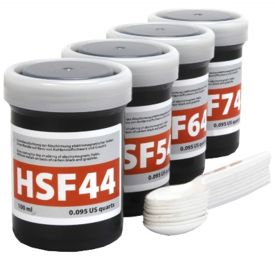 Musterset HF-Abschirmfarben | 4 x 100 ml