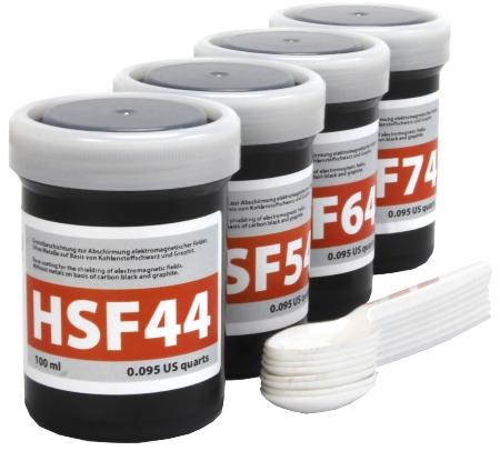 Musterset HF-Abschirmfarben | 3 x 250 ml