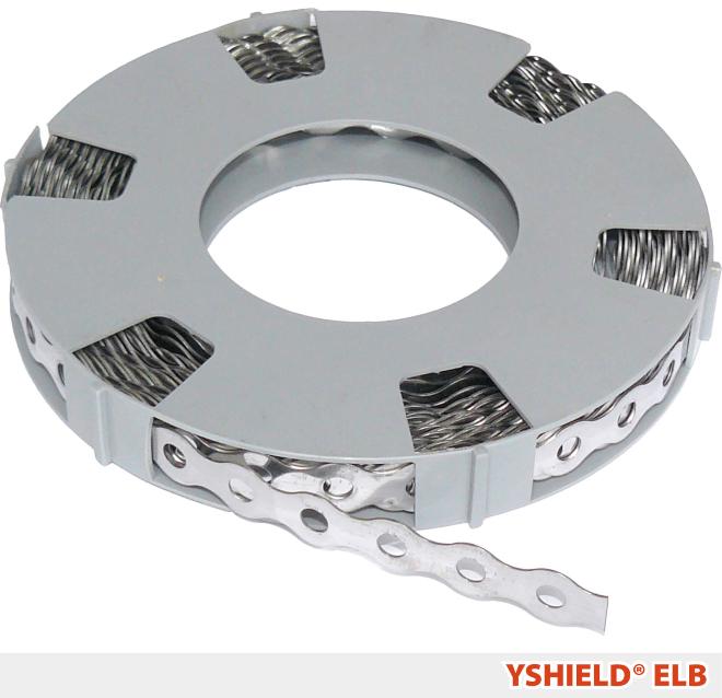 Edelstahl-Lochband ELB | Breite 1,4 cm | 10 Laufmeter