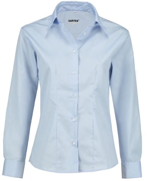 Strahlenschutz Bluse | HF | hellblau