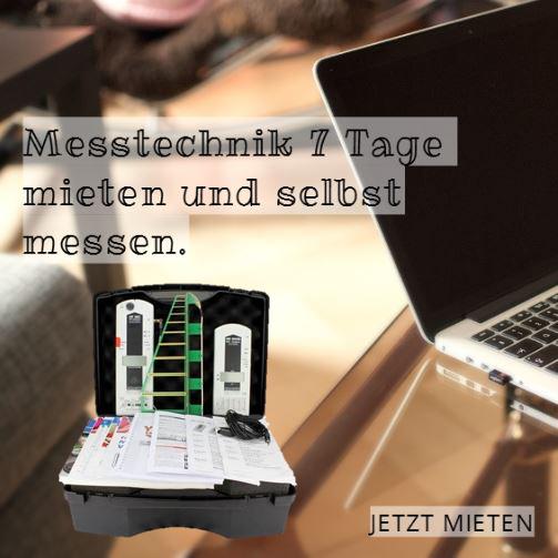 Messtechnik mieten