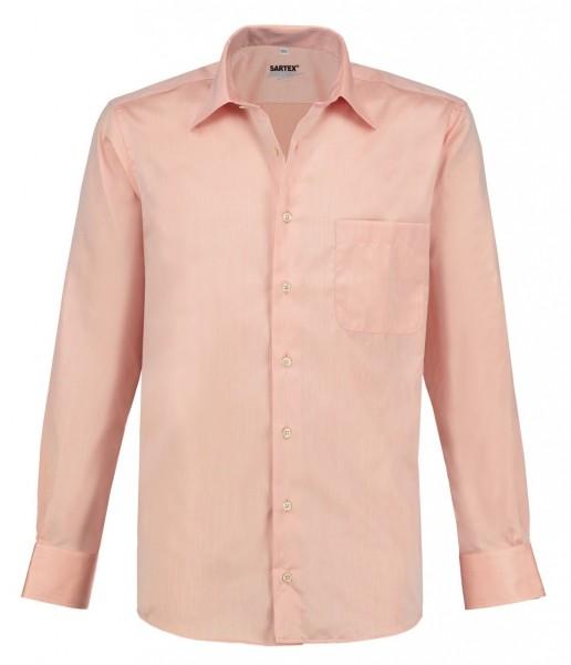 ESMOG-Shop_Strahlenschutz Hemd Herren | HF | rose | Vollzwirn | Köperbindung