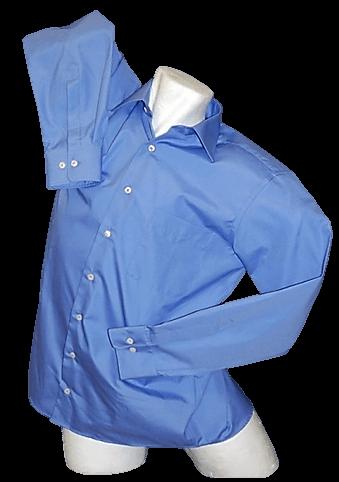 ESMOG-Shop_Strahlenschutz-Hemd royalblau